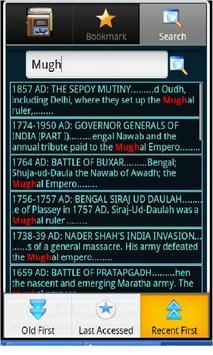Indian History, Book & Quiz screenshot 4