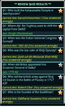 Indian History, Book & Quiz screenshot 5