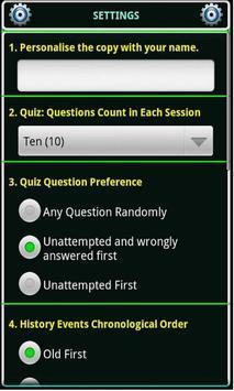 Indian History, Book & Quiz screenshot 6