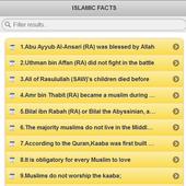 Islamic Facts icon