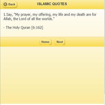 Islamic Quotes apk screenshot