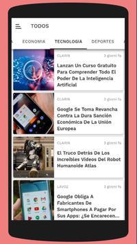 News Argentine - Newspaper screenshot 1