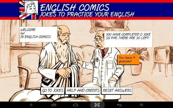 English Comics: Learn & laugh screenshot 10