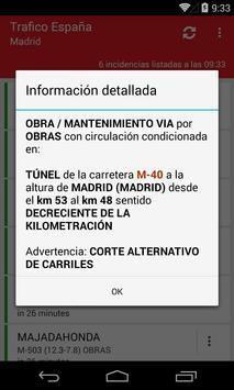 Trafico España screenshot 1