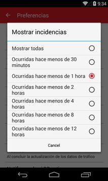Trafico España screenshot 2