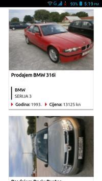 Rabljeni Automobili Hrvatska screenshot 5