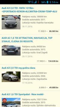 Rabljeni Automobili Hrvatska apk screenshot