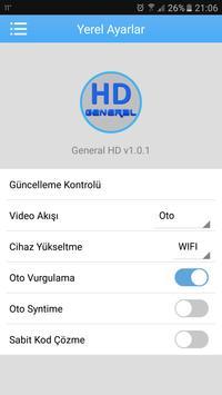 General HD Kamera İzleme apk screenshot