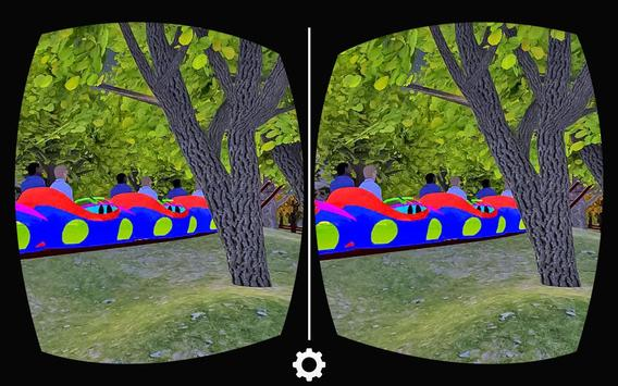 VR Forest Roller Coaster apk screenshot