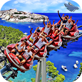 VR Real Island Roller Coaster icon