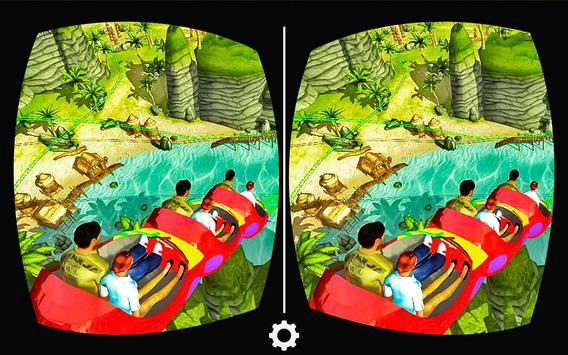 VR Real Island Roller Coaster poster