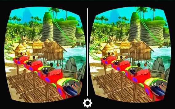 VR Real Island Roller Coaster apk screenshot