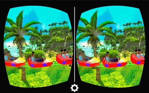 VR Real Island Roller Coaster screenshot 1