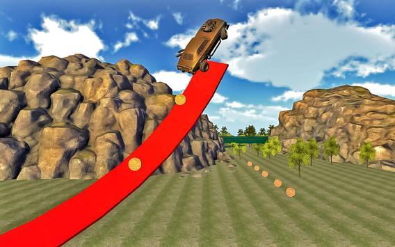 New Year Forest Car Stunts screenshot 19