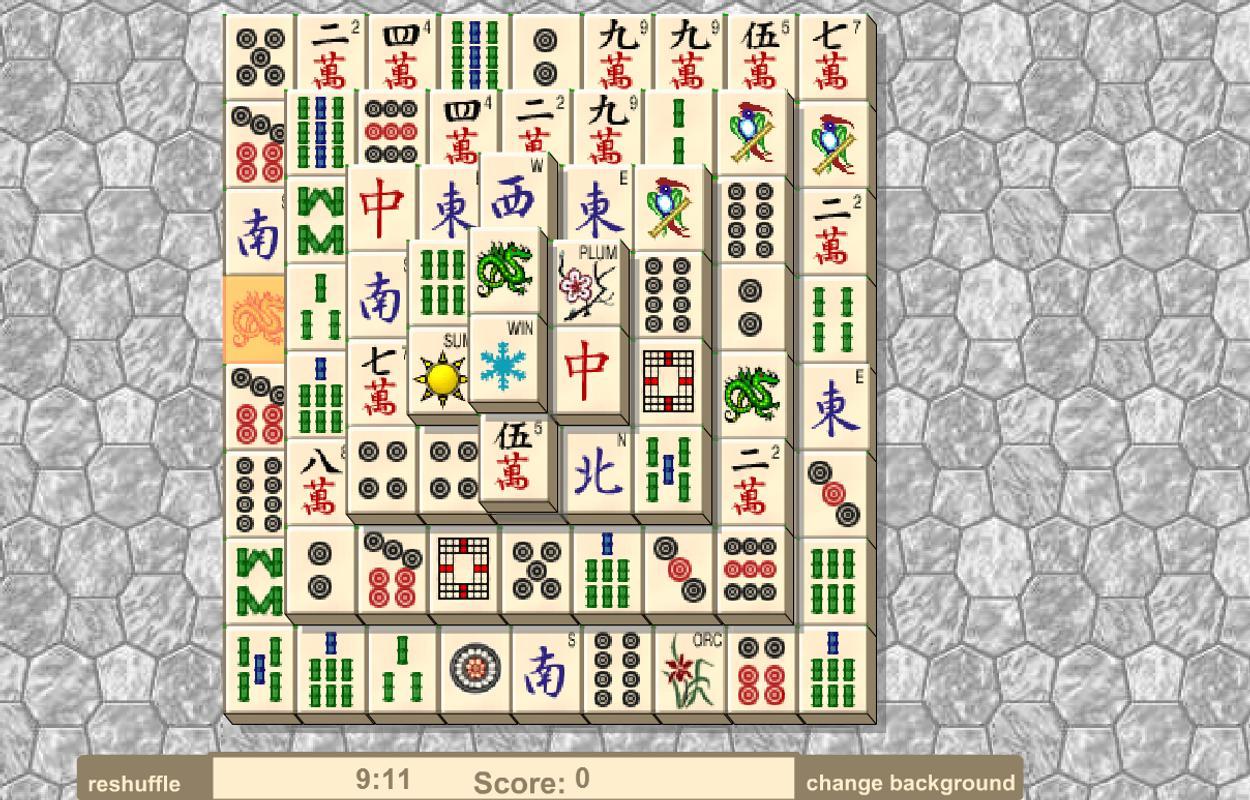 Solitär Mahjong