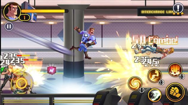 Legend Captain:Avengers Fight Lite poster