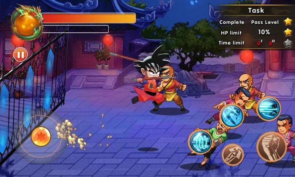 Super Dragon Fighter Legend captura de pantalla 1