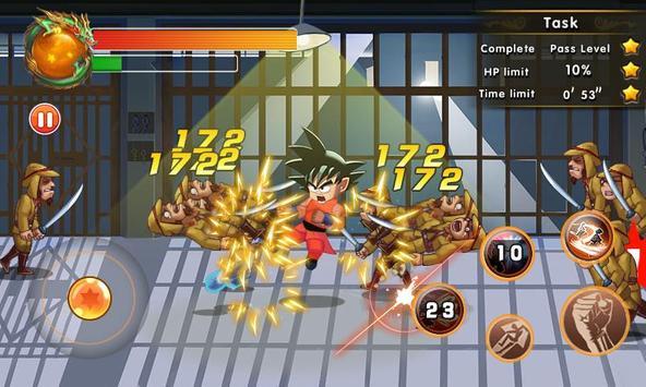 Super Dragon Fighter Legend captura de pantalla 2