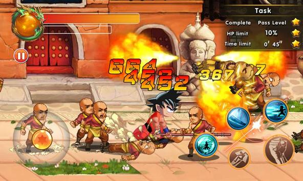 Super Dragon Fighter Legend captura de pantalla 3
