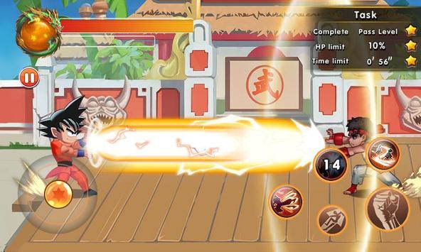 Super Dragon Fighter Legend captura de pantalla 4