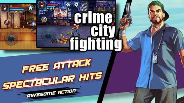 Crime City Fight:Action RPG screenshot 12
