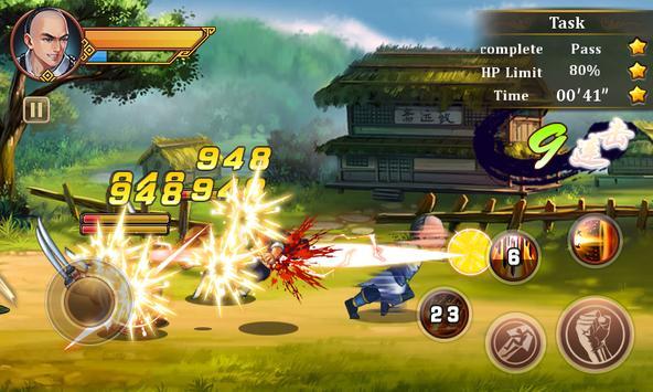 King of Kung Fu Master Lite apk screenshot