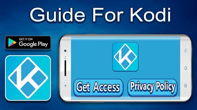 Guide for kodi poster