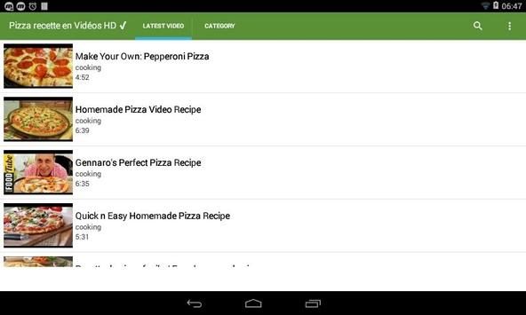Best Pizza recipes HD Videos ✔ apk screenshot