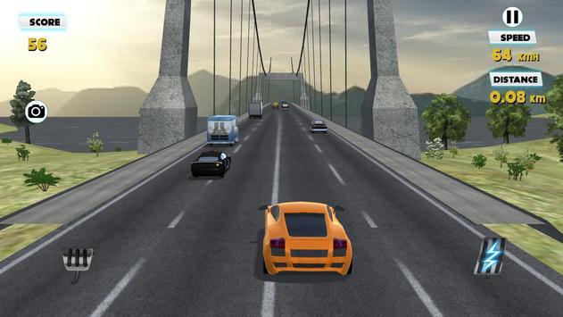 3D Traffic Racer 2016 screenshot 7