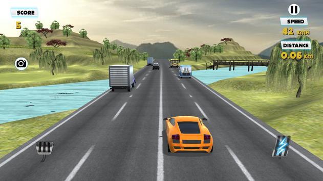 3D Traffic Racer 2016 screenshot 13