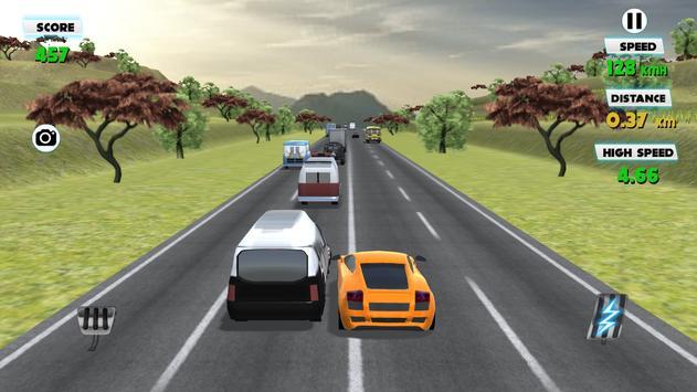 3D Traffic Racer 2016 screenshot 12