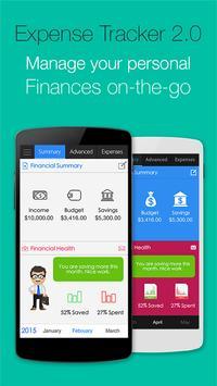 Expense Tracker 2.0 - Finance poster