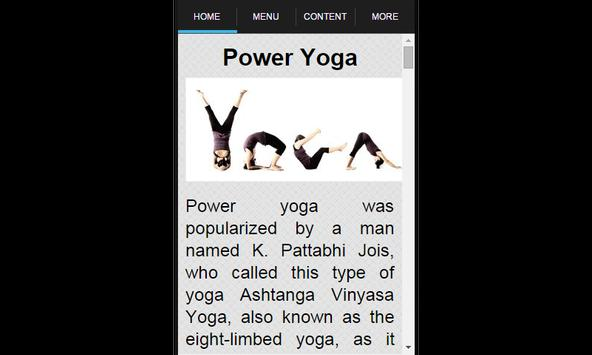 Power Yoga screenshot 1