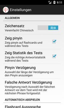 HSK Lernassistent für Chinesisch screenshot 6