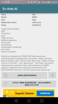 Ev-Avto Al (bina.az/turbo.az) screenshot 3