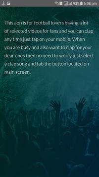 Tap Clapping, Football videos, Tap & Clap screenshot 4