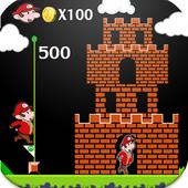 Mario happy adevnture of world icon