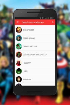 Superheroes wallpapers screenshot 5