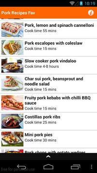 Pork Recipes Easy apk screenshot