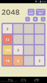 2048 Games Free screenshot 1