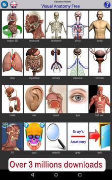 Visual Anatomy Free скриншот 10