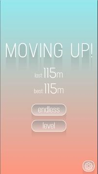moving up poster
