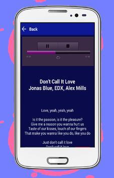 Jonas Blue Mama apk screenshot