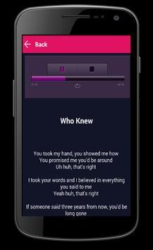 Pink lyrics apk screenshot