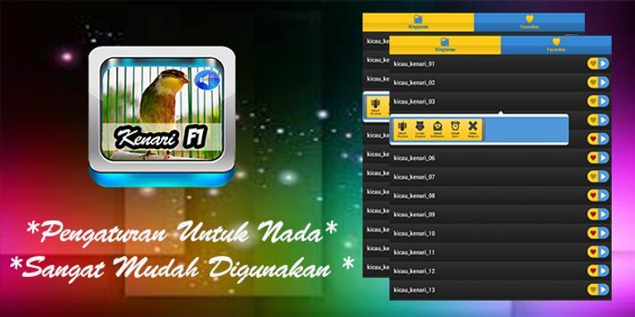 Suara Master Kenari F1 apk screenshot