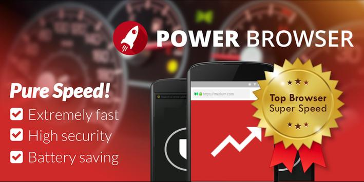 Power Browser for Android poster