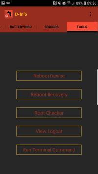 D-Info screenshot 2