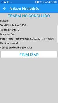 ArtLaser Distribuição apk screenshot