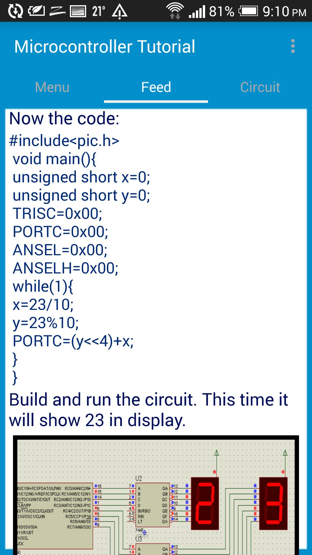 Microcontroller Tutorial for Android - APK Download