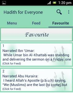 Hadith for All apk screenshot